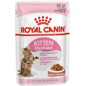 Корм для кошек Royal Canin Kitten Sterilised Gravy (киттен стерилизед греви), 85 г