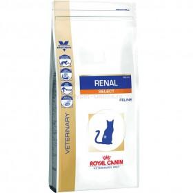Корм для кошек Royal Canin Renal Select диета при пониженном аппетите при хронической почечной недостаточности у кошек