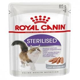 Корм для кошек Royal Canin Sterilised (стерилизед), Loaf (паштет)  85 г