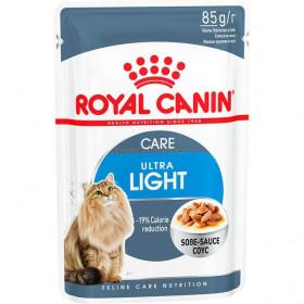 Влажный корм для кошек Royal Canin Ultra Light Sauce, в соусе, 85 г