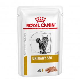 Корм ROYAL CANIN Vet Diet Urinary S/O паштет с курицей, 85 г