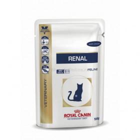 Корм для кошек Royal Canin Renal курица, 85 г