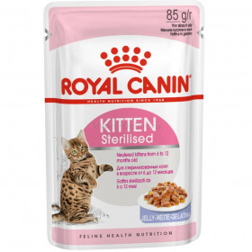 Корм для котят Royal Canin Kitten Sterilised Jelly, 85 г