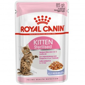 Корм для котят Royal Canin Kitten Sterilised Jelly (киттен стерилизед джели) , 85 г