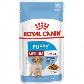 Корм для щенков Royal Canin Medium Puppy, 140 г