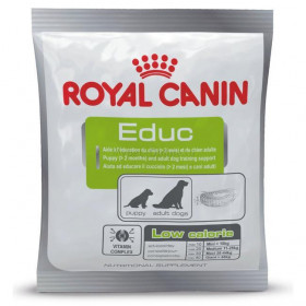 Лакомство Royal Canin RC Educ, обучение, дрессировка щенков от 2 мес и взрослых собак, 50 г