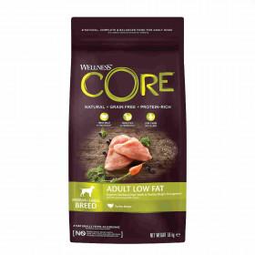 Wellness CORE сухой корм со сниженным содержанием жира из индейки с курицей для взрослых собак средних и крупных пород