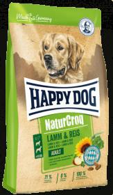 Happy Dog Natur Croq сухой корм для собак, с ягненком и рисом