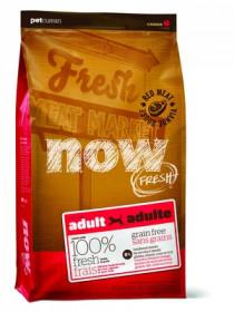 NOW Fresh Adult  Red Meat беззерновой сухой корм для взрослых собак со свежим мясом ягненка