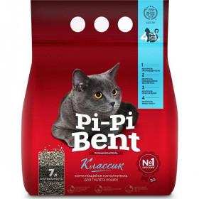Pi-Pi Bent Classic наполнитель комкующийся , пакет 5 кг