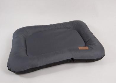 "KATSU Лежак ""Pontone Grazunka"", серый, большой размер 118х85см"