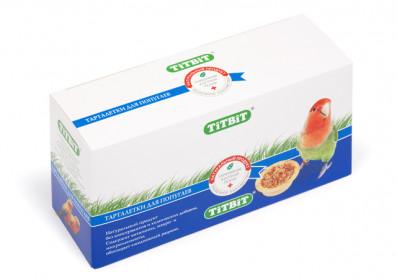 Tit Bit Тарталетка для попугаев с манго и злаками , 1 шт.