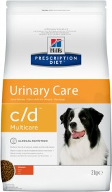 Hill's Prescription Diet C/D Multicare Urinary Care корм для собак, профилактика МКБ, с курицей