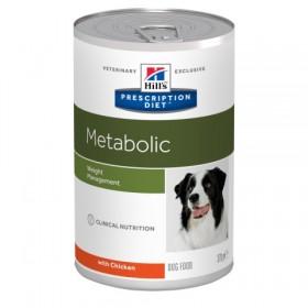 Hill's Prescription Diet Metabolic влажный корм для собак, снижение и контроль веса, с курицей