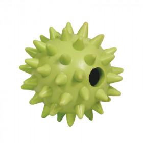"""TRIOL (ТРИОЛ) BW326 Игрушка для собак из ц/литой резины """"Мяч игольчатый"""", d65мм"""
