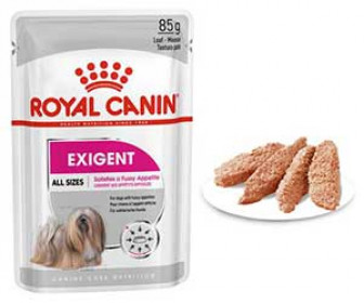 Корм для собак Royal Canin Exigent для привередливых собак старше 10 месяцев, паштет