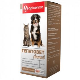Гепатовет Актив для собак и кошек, 100 мл