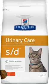 Hill's Prescription Diet S/D Urinary Care сухой корм для кошек, профилактика МКБ, с курицей
