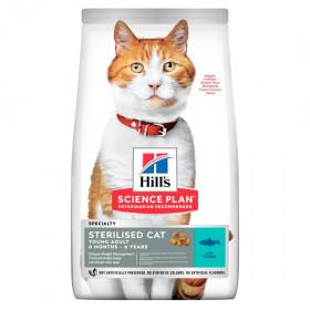 Hill's Science Plan сухой корм для стерилизованных кошек, с тунцом