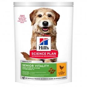 Hill's Science Plan Senior Vitality сухой корм для собак мелких пород старше 7лет, с курицей, 250гр