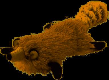 """TRIOL (ТРИОЛ) Игрушка для собак мягкая """"Белка"""", 250мм D9001"""