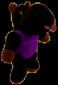 """GiGwi 75452 Игрушка для собак """"I'am HERO"""" Бегемот с пищалкой"""