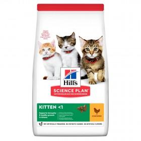 Hill's Science Plan сухой корм для котят с курицей