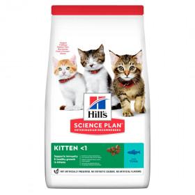 Hill's Science Plan сухой корм для котят с тунцом