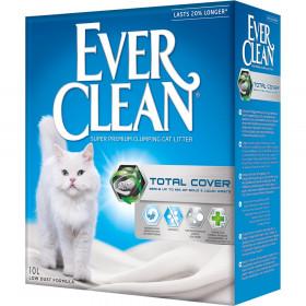 Ever Clean Total Cover наполнитель для кошачьих туалетов, 10 л