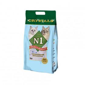 CRYSTAL №1 наполнитель впитывающий силикагелевый, 5 л