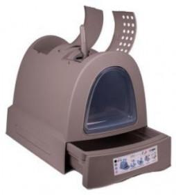 IMAC био-туалет для кошек ZUMA  40х56х42,5 см, серо-бежевый